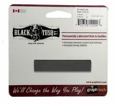 Graphtech Black Tusq XL Nut Slotted - SLAB 1/4inch For Electric Guitars And Bass