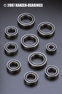 ASSOCIATED SC10 4x4 TRUCK ROULEMENT A BILLES BEARING (22pcs) SHORT COURSE 4WD