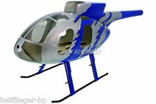 T Rex 500 petercopter X SCALE FUSELAGE Hughes 500e G-Jive jeu de couleurs - 500er Scale