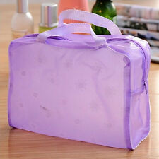 New Transparent Waterproof Travel Pouch Makeup Bags Cosmetic Bag Handbags