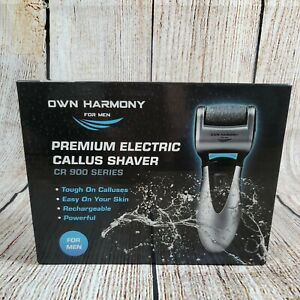 Electric Foot Callus Remover Rechargeable Pedicure Tools Men by 3 Rollers New