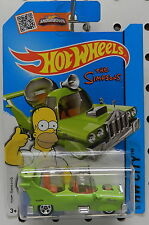 THE HOMER CARTOON SIMPSONS FAMILY CAR CADDY SUPERBIRD FOX HW HOT WHEELS