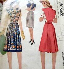 Lovely Vtg 1940s Skirt McCall Sewing Pattern Waist 26