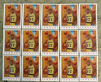 1991 Fleer Pro-Visions #6 - Earvin Magic Johnson - Lakers HOF - 15ct Card Lot
