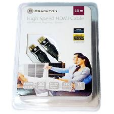 Neu 10 Meter 4k HDMI Kabel 2.0 High Speed HQ 99.99% OFC Kupfer FULL HD TV Ultra