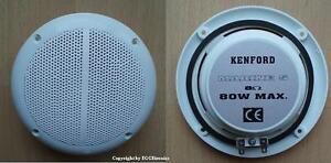 """2x Einbaulautsprecher Marine-Lautsprecher """"KENFORD M5"""" Boot Bad 80W"""