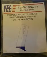 KelTec PF9 Factory Grip Extension for Kel Tec PF-9 Magazine Finger Ext PF9-492