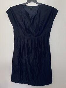 Esprit Womens Size 12 Dress Cotton Polyester Black Ladies Girls Female Wear