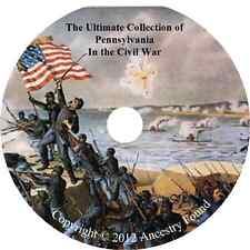 Pennsylvania Civil War Books - History & Genealogy - 88 Books on DVD