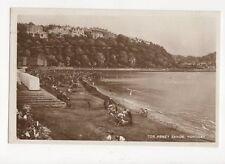 Tor Abbey Sands Torquay RP Postcard 301a