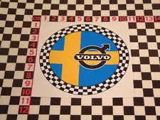 Checked Sticker - Classic Volvo P1800 Amazon 142 144 145 122 P1900