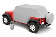 Pavement Ends Canopy Cab Cover 07-18 Jeep Wrangler Unlimited JK 4 Door Charcoal