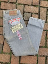 VTG MADE IN USA LEVIS 501  DENIM JEANS DEADSTOCK 80s 29x32 Rare NWT
