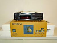 Sony CDP-X339ES High-End CD-Player Schwarz, OVP&NEU, 2 Jahre Garantie