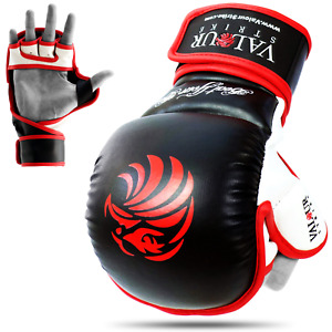 MMA Sparring Gloves Grappling Muay Thai Training Mitts Mixed Martial Arts