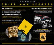 """Third Man Vault 30 Vinyl LP Record/7"""" Jack White Stripes Raconteurs Dead Weather"""