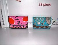 VERA BRADLEY CHOICE OF SMALL QUICKSTOP WALLET TOTALLY TURQ LOVES ME NWT