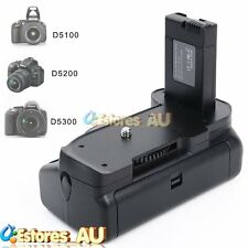 Multi-Power Vertical Battery Grip Holder Pack For Nikon D5300 D5200 D5100 Camera
