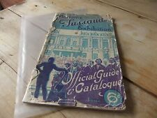 ANTIQUE HISTORY LONDON Madame Tussauds Exhibition Official Guide JULY 1936