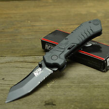 Smith & Wesson M&P MAGIC Assisted Opening Combo Edge Tactical Knife SWMP2BS