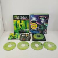 Obsidian (PC) Complete in Big Box CD Game w/ Guide