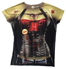 Universal Halloween Horror Nights Zombie Womens Cosplay T-Shirt  Sz.XL