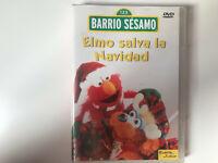 BARRIO SESAMO DVD ELMO SALVA LA NAVIDAD PLANETA JUNIOR