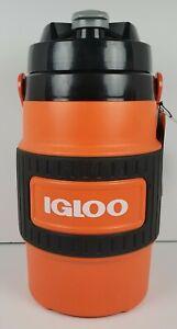 Igloo 80 Oz  Beverage Cooler Industrial Jug Orange/Black NEW 2.36 Liter