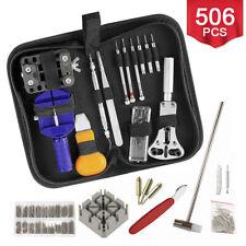 506pcs Watch Repair Tool Kit Back Case Opener Remover Spring Pin Bars Watchmaker