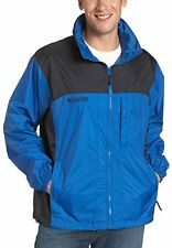 Columbia Cougar Peaks Rain Jacket Coat Waterproof Hooded Packable Men XL X-Large