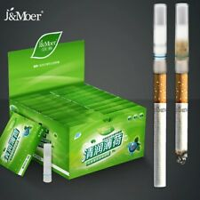 110 menthol flavored cigarette holder filter disposable Reducing cigarette harm