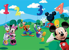 Wall Mural photo wallpaper 254x184cm Mickey Mouse and Friends bedroom wall mural