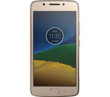 "Motorola Moto G5 Smart Phone 5"" 16GB Android 7.0 Fine Gold Unlocked Sim Free"