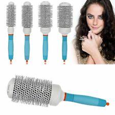 Hair Brush Thermal Ceramic Ionic Round Barrel Heat Resistant Comb Styling Brush