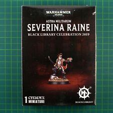 Commissar Severina Raine Black Library Celebration 2019 Warhammer 40k