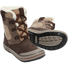 Keen Elsa Premium Waterproof Winter Snow Boot Espresso/Grape Womens Size 7
