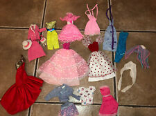 Huge Lot Of Vintage 80's Barbie Doll Clothes & Accessories