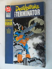 9 x Comic US - Deathstroke the Terminator  # 6-14 - DC - Z. 1/1-