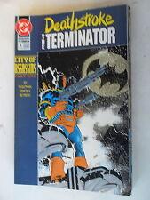 9 x cómic us-Deathstroke the Terminator # 6-14 - DC-z. 1/1 -
