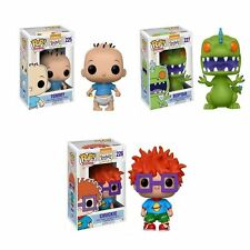 Funko Pop! Nickelodeon Rugrats Tommy, Chuckie & Reptar Set in stock w/protector