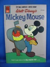 Mickey Mouse #79 (Aug-Sep 1961, Dell) VF NM All Paul Murry Issue