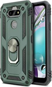 For LG Aristo 5/K31 Rebel/Phoenix5 Ring Case Magnetic Metal Stand Heavy Duty