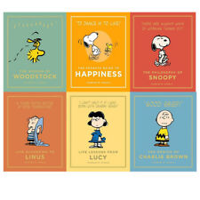 Peanuts Guide to Life series1,2 Charles M.Schulz Collection 6 Books set New Pack