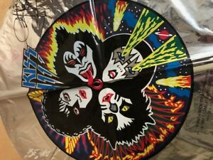 KISS 1980 FOIL BALOON SIGNED BY GENE SIMMONS  ONLY AVAILABLE AT ROYALS SHOWS AUD