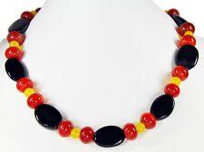 Precioso collar de Piedra preciosa Sardonyx, Cornalina y Ágata