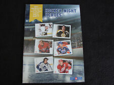 Stamp Catalog ~ Details Canada Post ~ Hockey Night Heroes NHL Crosby Messier Coi