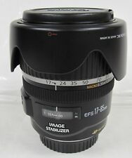 Canon 17-85mm F4/5.6 IS USM. EF-S -