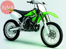 Kawasaki KX 250 (2005) - Workshop Manual on CD (In German)