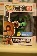 funko pop Nightmare Freddy (Glow in the Dark) Pop Vinyl Pop Games 111