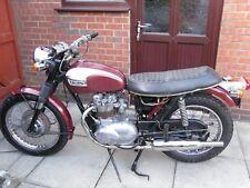 Triumph T100R T100 500 Classic Vintage Restoration Project